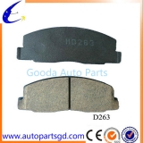 Brake pad D263 OE 04465-28020 for Toyota