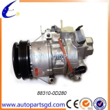 NCP92VIOS CAR COMPRESSOR FOR TOYOTA CARS OEM88310-0D280