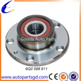 Top quality wheel hub bearing for rear axle sales from wholesale China factory for Volkswagen Polo OE 6Q0 598 611