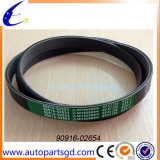 Auto parts car part pvc belt for toyota vios with competitive price OEM 90916-02654