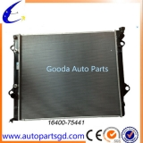 auto parts radiator for Toyota Land Cruiser Prado OEM 16400-75441