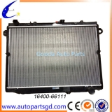 auto radiator for Toyota Land Cruiser 100 OEM 16400-66111