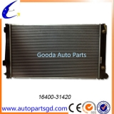 car auto aluminium radiator for Toyota RAV4 OEM 16400-31420